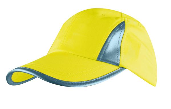 Fluoriserende sikkerheds cap - Bæk Tryk